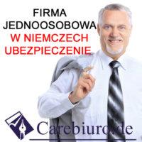 Gewerbe bez zameldowania w Niemczech carebiuro.express