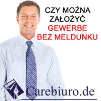 Jak zalozyc firme w Niemczech carebiuro.de